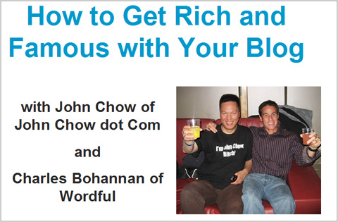 John Chow and Wordful webinar